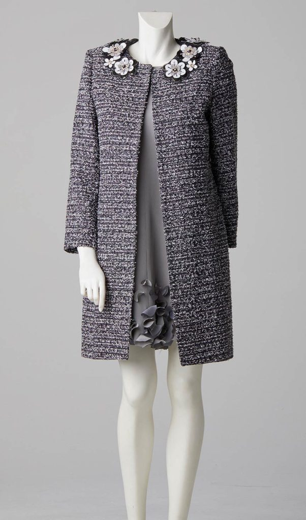 formal wear french tweed coat made to measure couture designer south west london