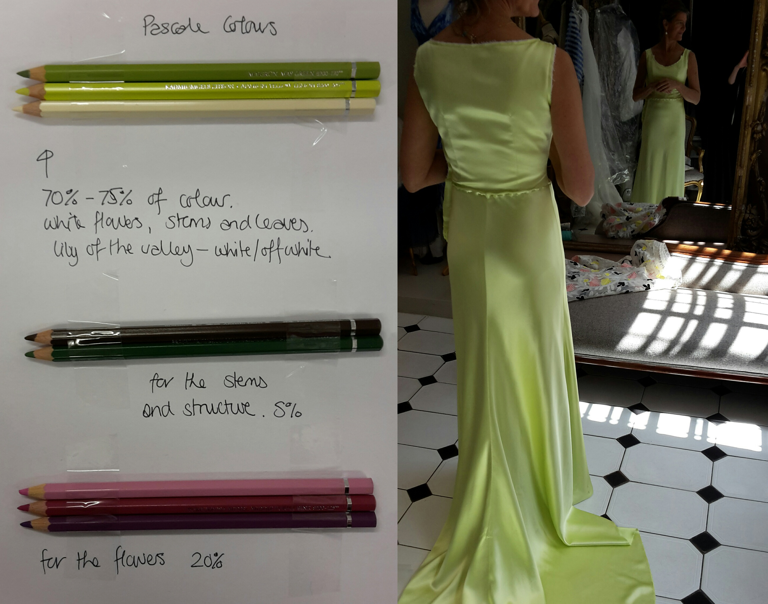 couture wedding gown london