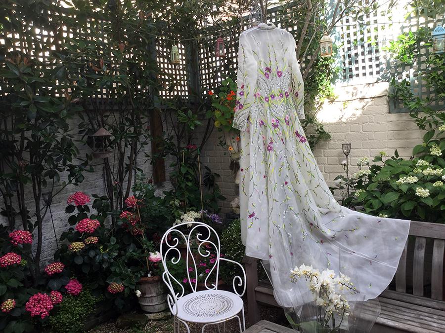 brides dress designer london