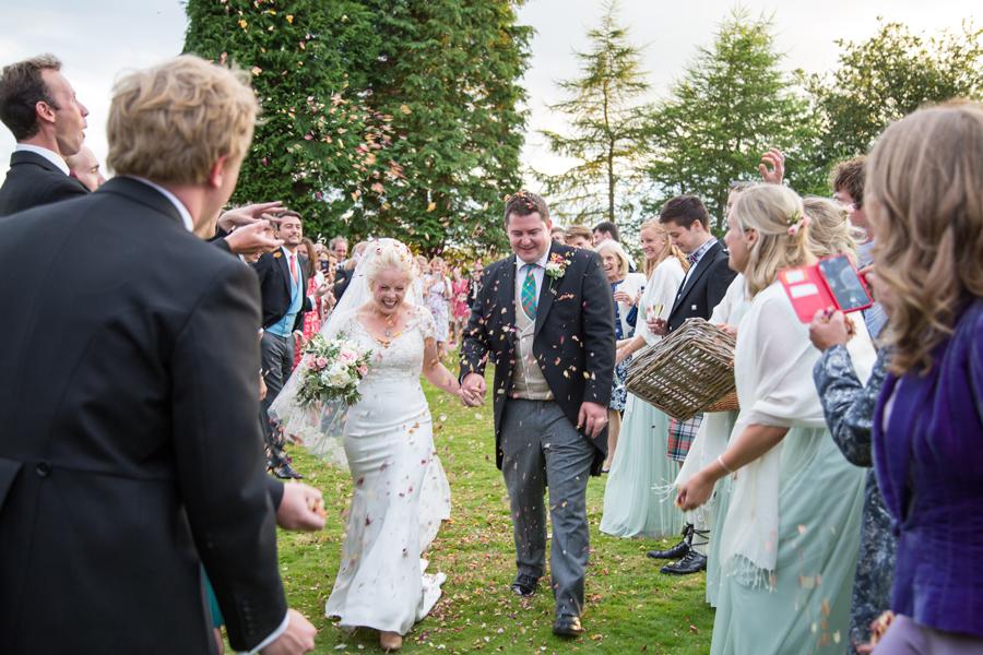 Alice & Max Wedding After Shot