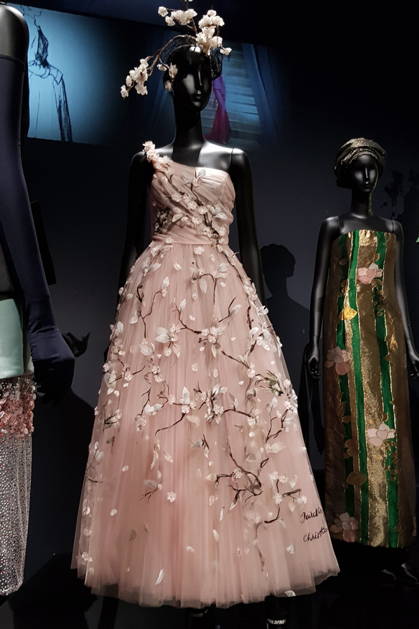 Dior - Beautiful dress with the feminine touch, from Maria Grazia Chuiri's fist Dior collection.