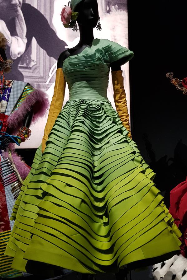Dior - Makes a most stunning dress.