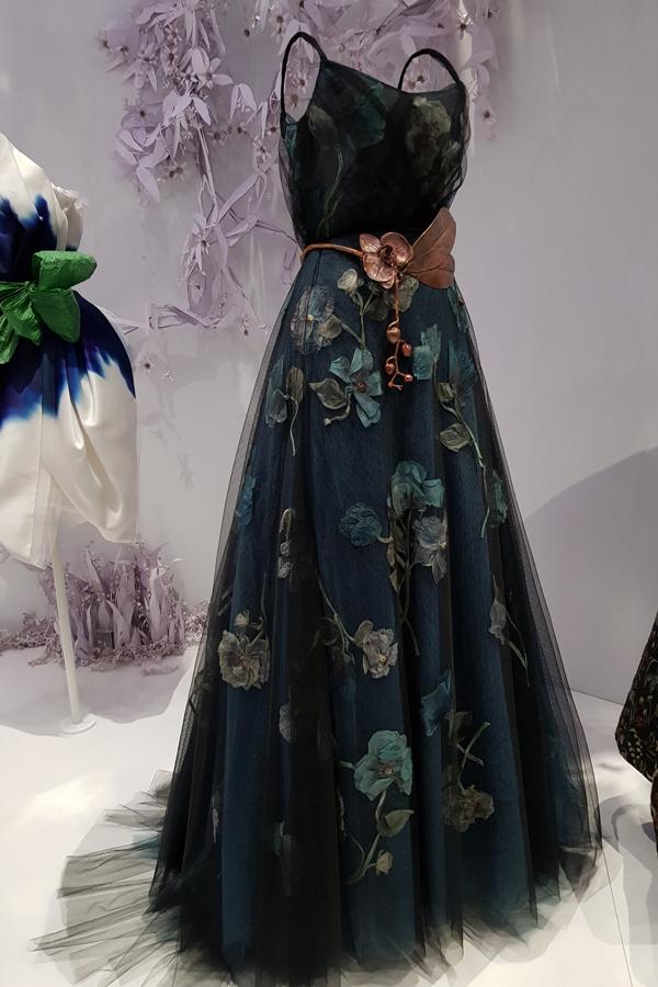 Dior - More feminine flowers.