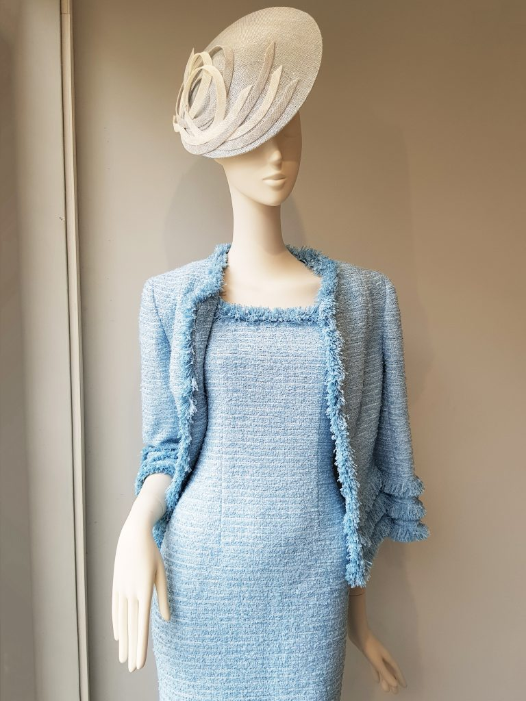 Allison Rodger Pale Blue Tweed